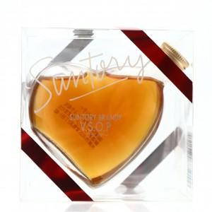 Suntory VSOP Brandy Heart Miniature