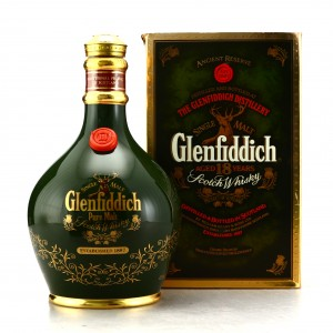 Glenfiddich 18 Year Old Pure Malt Decanter 1980s
