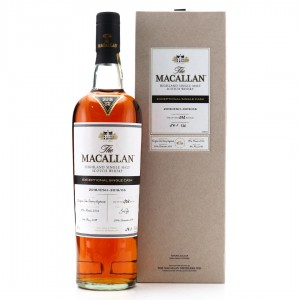 Macallan 2002 Exceptional Cask #3019-06 / 2018 Release