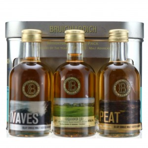 Bruichladdich Links, Waves & Peat Tasting Pack 3 x 20cl