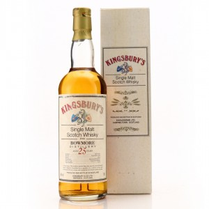 Bowmore 1973 Kingsbury 25 Year Old