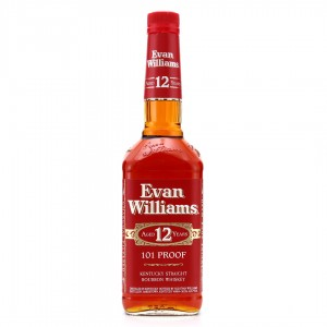 Evan Williams 12 Year Old 101 Proof / Japanese Import