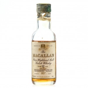 Macallan 12 Year Old Miniature 1980s