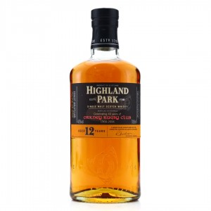 Highland Park 12 Year Old / 40 Years of Orkney Rugby Club