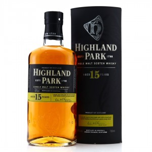 Highland Park 15 Year Old pre-2017