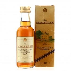 Macallan 1979 18 Year Old Miniature