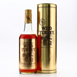 Wild Turkey 12 Year Old 101 Proof Limited Edition 1992