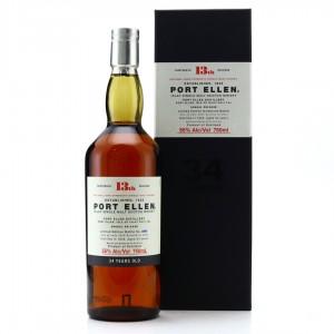 Port Ellen 1978 34 Year Old 13th Release 75cl / US Import