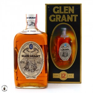 Glen Grant 12 Year Old 1970s / Giovinetti Import