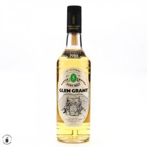 Glen Grant 1988 5 Year Old / Seagram Italia Import