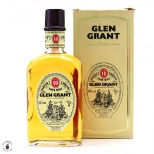 Glen Grant 10 Year Old 1990s / Seagram Italia Import