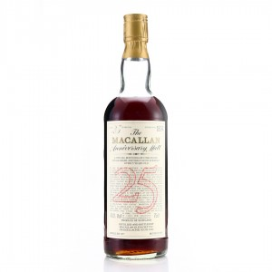 Macallan 1957 Anniversary Malt 25 Year Old / Inaugural Release