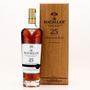Macallan 25 Year Old Sherry Oak 2019 Release