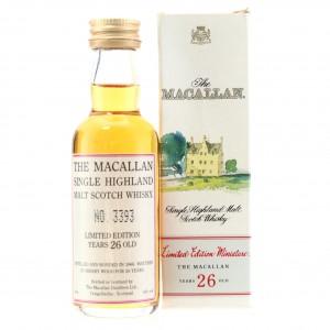 Macallan 1966 26 Year Old Miniature