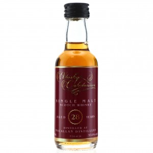 Macallan 28 Year Old Whisky Caledonian Miniature