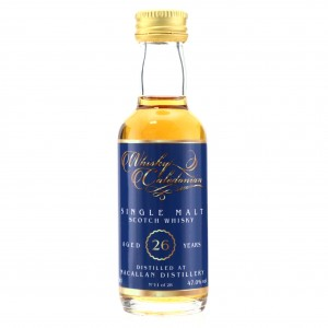 Macallan 26 Year Old Whisky Caledonian Miniature