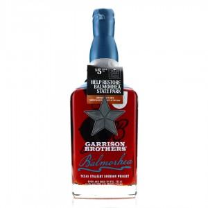 Garrison Brothers 2014 Texas Straight Bourbon / Signed Bottle