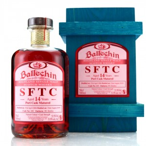 Ballechin 2004 Straight from the Cask 14 Year Old 50cl / Port Cask