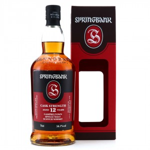 Springbank 12 Year Old Cask Strength / 56.1%