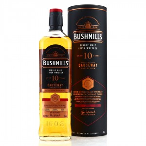 Bushmills 2010 Cognac Cask Finish 10 Year Old / The Causeway Collection
