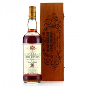 Macallan 1980 Gran Reserva 18 Year Old 75cl / Japanese Import