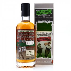 Irish Single Malt No. 2 That Boutique-y Whisky Company 12 Year Old Batch #4