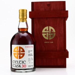 Irish Single Malt 1991 Celtic Cask Triocha