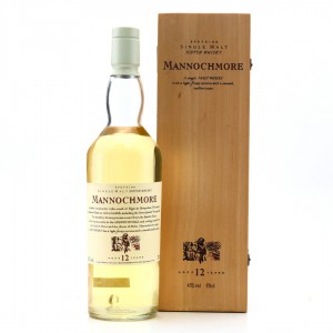 Mannochmore 12 Year Old Flora and Fauna White Cap / Wooden Box