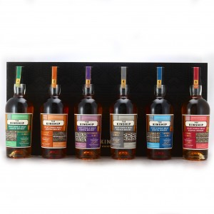 Hunter Laing Kinship Collection 6 x 70cl with Gift Box / Feis Ile 2019