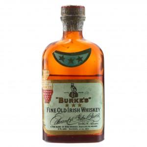 Burke's 10 Year Old Fine Old Irish Whiskey 1934 Miniature / US Import
