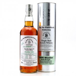 Glenlivet 2006 Signatory Vintage 13 Year Old 75cl / Norfolk Whisky Group