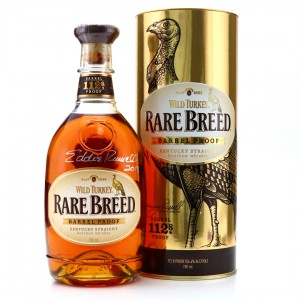 Wild Turkey Rare Breed Barrel Proof - Signed