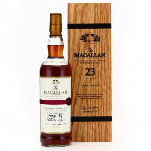 Macallan 23 Year Old Single Cask #27 / La Casa Cubana