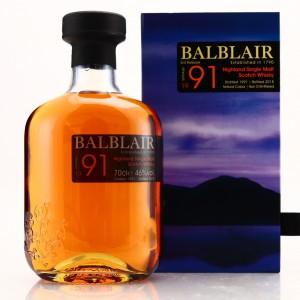 Balblair 1991 3rd Release 2018