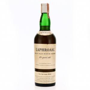 Laphroaig 10 Year Old early 1970s / Filippi Fausto Import