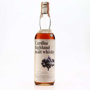 Cardhu 8 Year Old John Walker and Sons 1970s / Wax & Vitale Import