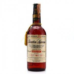 Bourbon Supreme 5 Year Old Bottled in Bond 86 Proof 1971