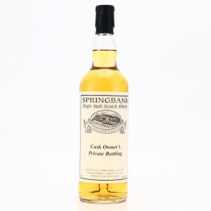 Springbank 1997 Private Bourbon Cask #128 / One of 24