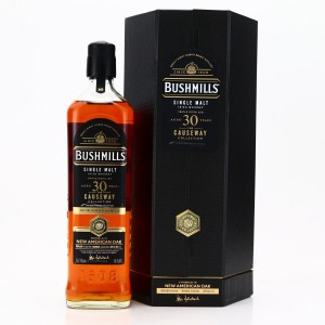 Bushmills 1990 New American Oak Finish 30 Year Old / The Causeway Collection