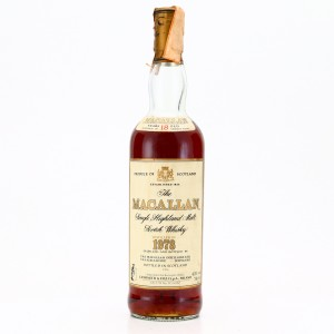 Macallan 1978 18 Year Old / Giovinetti Import