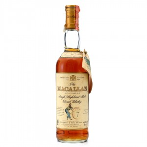 Macallan 7 Year Old Armando Giovinetti Special Selection 1990s