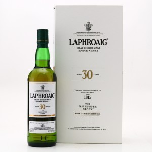 Laphroaig 30 Year Old The Ian Hunter Story Book 1
