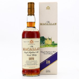 Macallan 1976 18 Year Old 75cl / US Import
