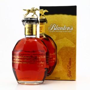 Blanton's Single Barrel Gold Edition dumped 2019