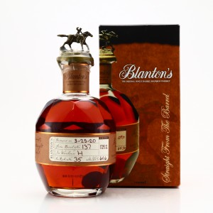 Blanton's Straight from the Barrel dumped 2020