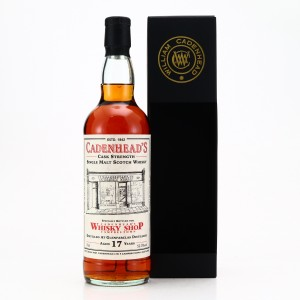 Glenfarclas 2003 Cadenhead's 17 Year Old / Campbeltown Shop