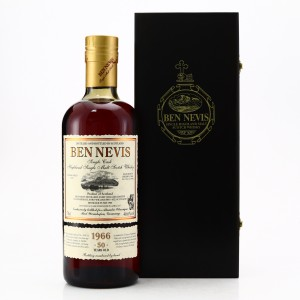 Ben Nevis 1966 Single Sherry Cask 50 Year Old #3641 / Alambic Classique
