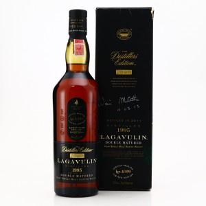Lagavulin 1995 Distillers Edition / Signed