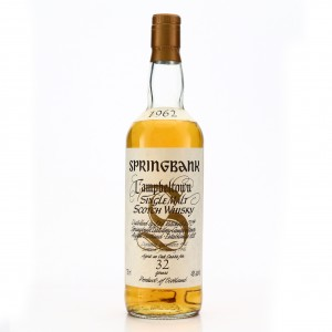 Springbank 1962 32 Year Old 75cl