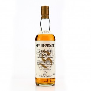 Springbank 1965 29 Year Old